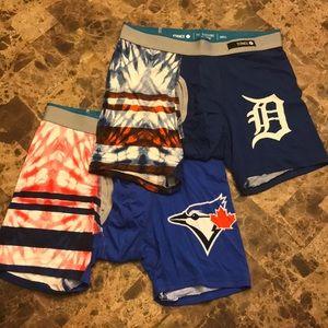 Stance Basilone MLB Boxer Briefs 2-Pack